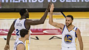 Warriors' 25-point comeback in Game 1 saved gamblers in Las Vegas a lot of money