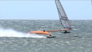 Record-breaking speed sailor has plans for 'crazy boat'