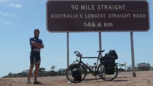 Around the world in 80 days … on a bicycle