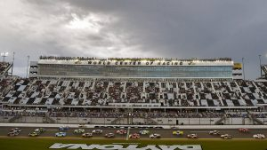 Rain interrupts Daytona NASCAR Xfinity race, forces delay until Saturday