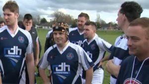Mixed ability team Llanelli Warriors enjoying tour of New Zealand