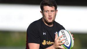Rory Thornton: Ospreys lock eager for Wales debut against Samoa