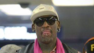 Rodman visiting N. Korea, 'trying to open door'