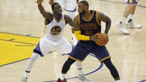LeBron James responds to Draymond Green: 'My name is in you head. I love that'