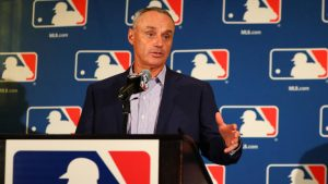 MLB commissioner 'convinced' Marlins will be sold, possibly to group with Derek Jeter
