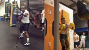 WATCH: Mayweather impresses in boxing workout video, McGregor … not so much
