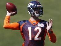Demaryius Thomas weighs in on Broncos' QB battle