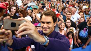 Superfans worship at the altar of Federer