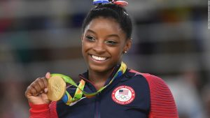 Biles' battle with body image
