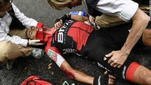 Tour de France's 70kph crash on 'crazy' stage