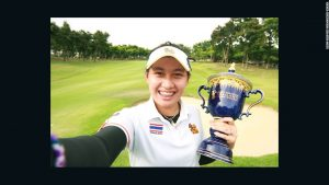 Thai teenager wins pro tournament, makes history