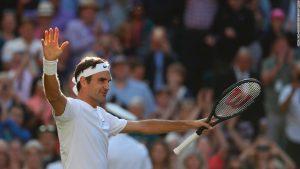 Federer reaches record 11th Wimbledon final