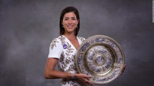 Wimbledon champion Muguruza reveals grand plan