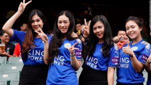 Premier League passion – and romance – in Hong Kong