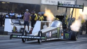 NHRA Saturday qualifying results, Sunday elimination pairings from Joliet
