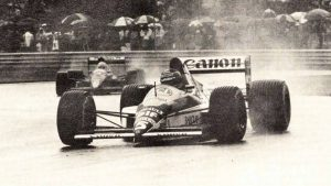 Throttle-Back Thursday: Thierry Boutsen overcomes Senna for a rainy first F1 win