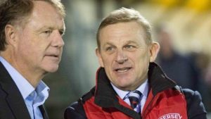 Jersey Reds chairman Mark Morgan says playing budget cut 'significantly'