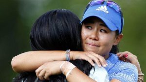Women's PGA Championship: Danielle Kang birdies final hole to win first major