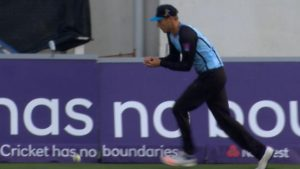 Sussex v Hampshire: What a drop! Danny Briggs misses easy catch for Sussex