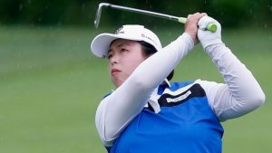 Amateur Choi, 17, tied for second behind Feng at US Open