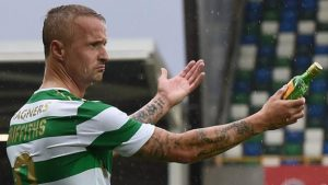 Linfield launch probe after bottle is thrown at Celtic's Griffiths