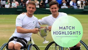 Wimbledon 2017: Highlights: Alfie Hewett & Gordon Reid retain doubles title
