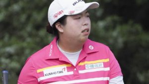 US Women's Open: Shanshan Feng leads by one into final round