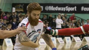 Rugby League Wheelchair World Cup: James Simpson eyes glory with England