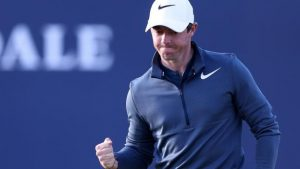 The Open 2017: Rory McIlroy on his first round recovery and his caddie pep talk