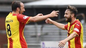 Partick Thistle thrash St Mirren in League Cup