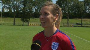 Women's Euro 2017: Carly Telford hopes footballers and cricketers can inspire next generation