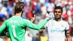Man Utd beat Real Madrid on penalties after Lindelof error
