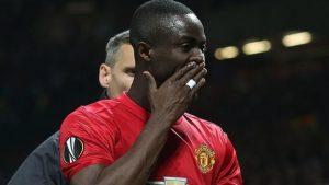 Man Utd's Bailly banned for two more European games