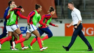 Women's Euro 2017: England boss Mark Sampson targets title after France win