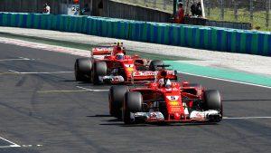 F1 Hungarian GP qualifying: Sebastian Vettel wins pole on all-Ferrari front row