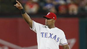 WATCH: Rangers third baseman Adrian Beltre records career hit No. 2,999
