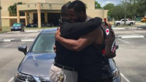 LOOK: Colts rookie keeps promise he made at age 10, buys his father a new Lexus
