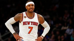 Carmelo Anthony reportedly not interested in joining Trail Blazers at this point