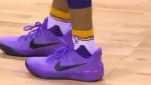 LOOK: LeBron James blasts Lonzo Ball for wearing Nike shoes during 36-point game