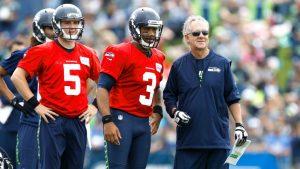 Seahawks' Wilson starts quarterback academy