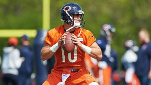 Trubisky signs his deal as Bears rookies report