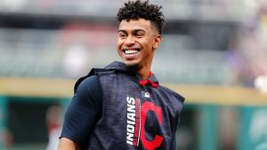 Lindor shares All-Star experience with his father for the first time