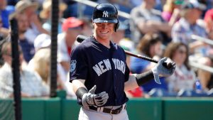 Yankees prospect Frazier homers in MLB debut