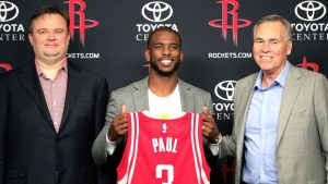 CP3 on Harden dynamic: We'll 'help each other'