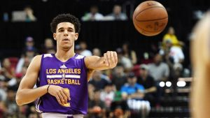 Lonzo's dad open to shoe deal if 'price is right'