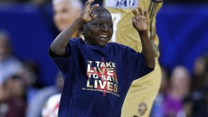 Saints superfan Jarrius Robertson on winning Jimmy V Award: 'Thought I was dreaming'