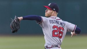 Braves' Mike Foltynewicz loses no-hit bid in ninth inning by giving up a home run