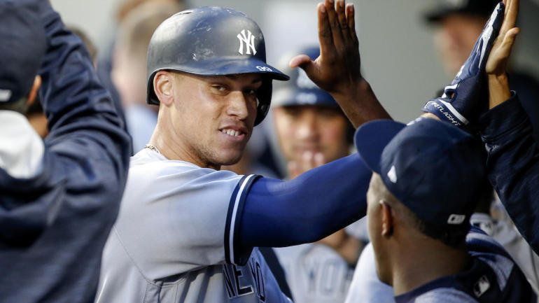 Yankees' Aaron Judge b...