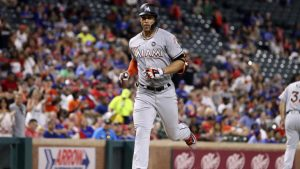 Giancarlo Stanton mocks Rangers pitcher after getting shown up the night before