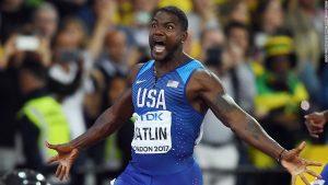 Justin Gatlin stuns Usain Bolt
